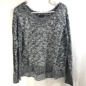 American Eagle High Low Sparkle Sweater M